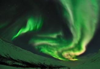 Prima aurora boreala din 2011, surprinsa in imagini (Galerie Foto)