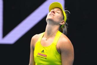 Prima campioana care a fost eliminata de la Australian Open