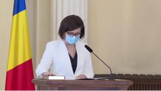 """Prima conferinta a noului ministru al Sanatatii, Ioana Mihaila: """"Am venit aici sa fac treaba. Nu voi sterge cu buretele obiectivele comune cu Vlad Voiculescu"""" VIDEO"""
