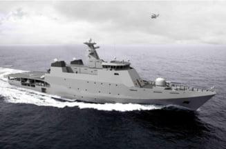 Prima corveta construita de romani a fost livrata Marinei Militare din Pakistan