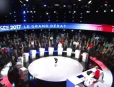 Prima dezbatere TV cu toti candidatii la presedintia Frantei: Le Pen a iesit cam sifonata