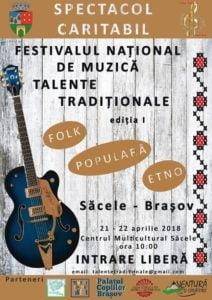 """Prima editie a Festivalului de Muzica """"Talente traditionale"""", la Sacele"""