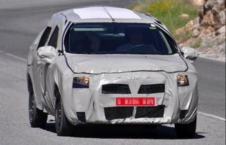 Prima imagine cu Dacia Logan 2 (Video)