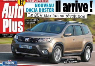 Prima imagine cu noul model Dacia Duster