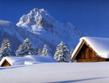 Prima ninsoare din acest sezon. Strat gros de zapada la Balea Lac (Video)