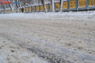 Prima ninsoare inchide A2: Responsabilul cu deszapezirea, suspendat din functie