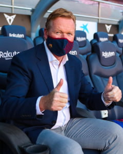 """Prima poza cu Ronald Koeman antrenor la Barcelona. """"Sunt mandru, este un vis devenit realitate. Este casa mea"""""""
