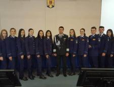 Prima promotie de studenti a clasei anticoruptie a absolvit cursurile Academiei de Politie A.I. Cuza