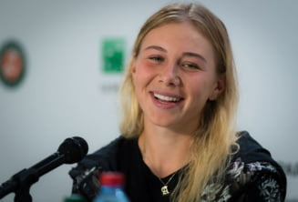 Prima reactie a Amandei Anisimova dupa ce a eliminat-o pe Simona Halep de la Roland Garros