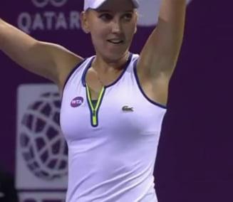 Prima reactie a Elenei Vesnina dupa victoria de poveste cu Simona Halep (Video)