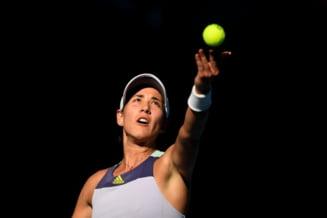 Prima reactie a Garbinei Muguruza dupa ce a invins-o pe Simona Halep in semifinalele de la Australian Open