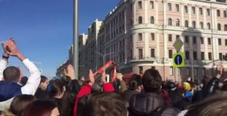 Prima reactie a Kremlinului dupa amplele proteste din Rusia: Manifestatia a fost o provocare, adolescentii au fost platiti