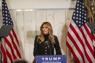 "Prima reactie a Melaniei Trump, dupa ce sotul ei a pierdut alegerile: ""Americanii merita alegeri corecte"""