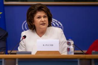 Prima reactie a Rovanei Plumb dupa ce a fost respinsa la Bruxelles: Nu am primit nicio comunicare oficiala din partea Comisiei JURI