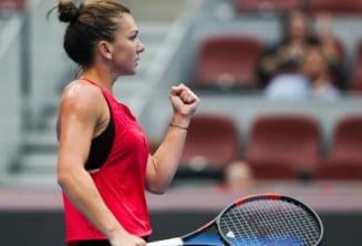 """Prima reactie a Simonei Halep dupa ce a ajuns pe primul loc WTA: """"E prima oara cand plang pe teren"""""""