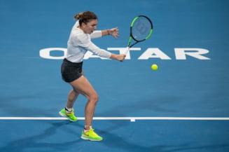 Prima reactie a Simonei Halep dupa finala pierduta la Doha cu Elise Mertens