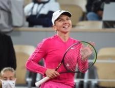 """Prima reactie a Simonei Halep dupa prima victorie la Roland-Garros. Care a fost lovitura castigatoare: """"N-am dat niciodata atat de multe intr-un meci"""""""