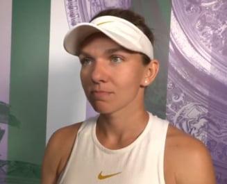 Prima reactie a Simonei Halep dupa victoria cu emotii de la Wimbledon