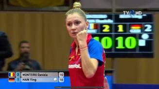 Prima reactie a eroinei Romaniei din finala Europenelor de tenis de masa, Dana Dodean