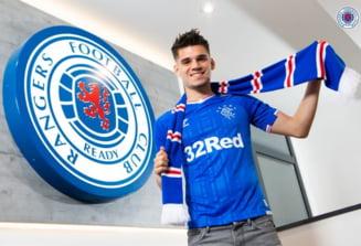 Prima reactie a lui Ianis Hagi dupa transferul la Glasgow Rangers