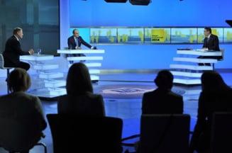 """Prima reactie a lui Iohannis dupa confruntare. Ponta se bucura de """"dezbaterea civilizata"""""""