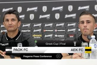 Prima reactie a lui Razvan Lucescu dupa ce a reusit eventul cu PAOK Salonic