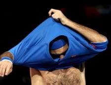 """Prima reactie a lui Roger Federer dupa incidentul de la Turneul Campionilor: """"Amice, taci din gura"""""""