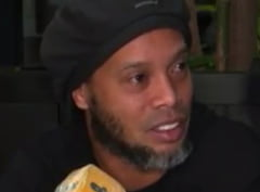 Prima reactie a lui Ronaldinho dupa ce a fost arestat