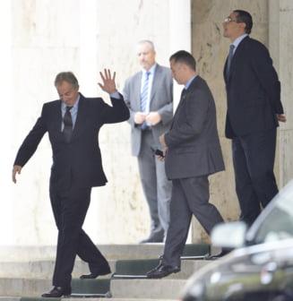 Prima reactie a lui Tony Blair dupa ce numele sau a fost mentionat in dosarul Ponta-Ghita