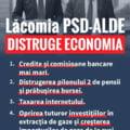 Prima reactie din USR la masurile anuntate de Teodorovici: Coalitia PSD-ALDE va distruge economia Romaniei