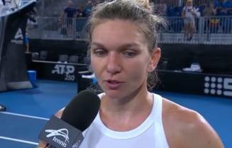 Prima reactie oferita de Simona Halep dupa victoria de la Adelaide