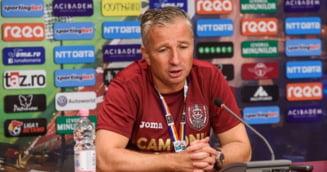 Prima reactie oferita de conducerea lui CFR Cluj dupa declaratia controversata a lui Dan Petrescu