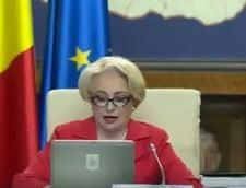 Prima sedinta a Guvernului dupa motiune: Dancila promite spitale, un aeroport nou in Bucuresti si ca vom naviga pe Dambovita si Arges (Video)