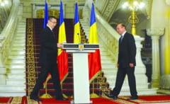 Prima zi de coabitare dintre Basescu si Ponta