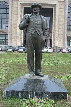 Primaria Bucuresti da 175.000 de euro pentru o noua statuie a lui Caragiale