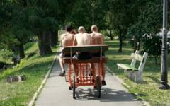 Primaria Buzau, acuzata de abuz de catre proprietarul bicicletelor cu patru roti din Parcul Crang
