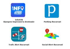Primaria Capitalei lanseaza patru aplicatii: bucurestenii afla informatii despre trafic si parcari si pot semnala nereguli