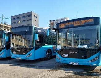 Primaria Capitalei trebuie sa mai plateasca aproape 200 de milioane de lei pentru autobuzele Otokar si Mercedes hibrid cumparate de Firea