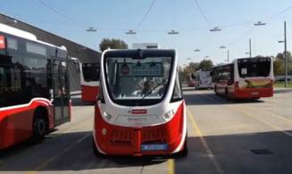 Primaria Cluj-Napoca vrea sa introduca, in cel mult doi ani, autobuze fara soferi