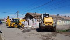 Primaria Mangalia a demolat inca o cladire insalubra de la marginea orasului
