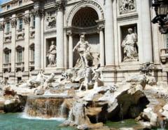 Primaria Romei si Biserica Catolica se cearta pe banii aruncati de turisti in Fontana di Trevi