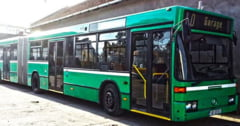 Primaria din Lugoj a inchiriat un autobuz care s-a stricat dupa cateva zile si a perturbat traficul din oras