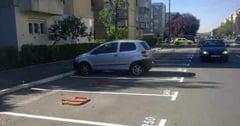 Primaria ii obliga pe aradeni sa plateasca pentru ca isi parcheaza masina in fata blocului
