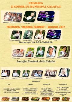 "Primaria si Consiliul Municipal Calafat - Festivalul ""Roadele Toamnei"" - Calafat 2017"