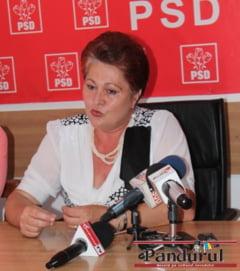 Primarita din Berlesti a plans la conferinta PSD