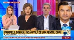 Primarul Chirica explica la Antena3 jongleriile cu ultima vila aparuta in declaratia de avere