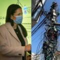 """Primarul Clotilde Armand a lansat o harta interactiva si indeamna bucurestenii sa reclame stalpii """"sufocati de cabluri"""""""