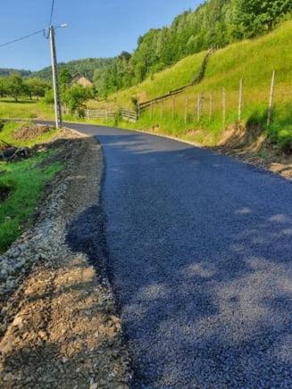 Primarul Doru Crisan: Lucram la doua proiecte de asfaltare a 20 de strazi din Prundu Bargaului
