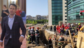 Primarul Robert Negoiță supraveghea personal șantierul care a curmat două vieți. Miza uriașă a lucrării neautorizate