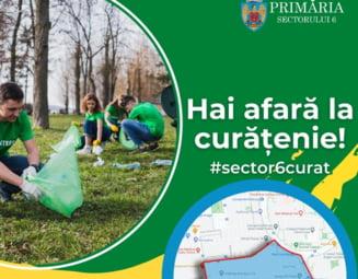 """Primarul Sectorului 6 se lauda cu cea mai mare campanie de curatenie facuta in Bucuresti in ultimii zeci de ani: """"Particip si eu, sa arat ca nu e nicio rusine"""""""